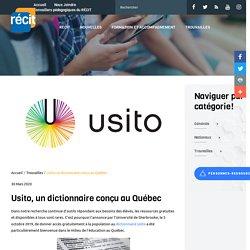 Usito, dictionnaire en ligne de l'université de Sherbrooke, Québec