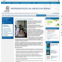 Uso de TIC na educação do Brasil