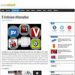 5 Ustream Alternative