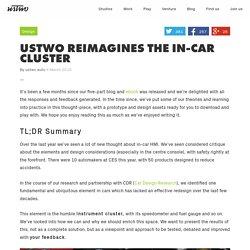 Reimagines the In-Car Cluster