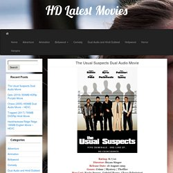 The Usual Suspects Dual Audio Movie