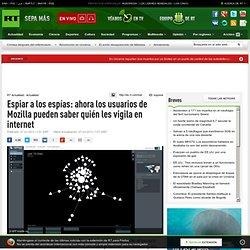 Espiar a los espías: ahora los usuarios de Mozilla pueden saber quién les vigila en internet