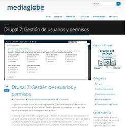 Drupal 7: Gestión de usuarios y permisos
