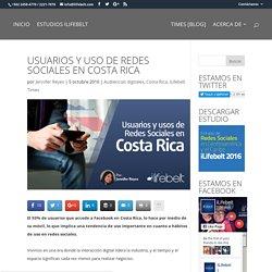 Usuarios y Uso de Redes Sociales en Costa Rica - iLifebelt™