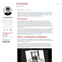 UT on Rails