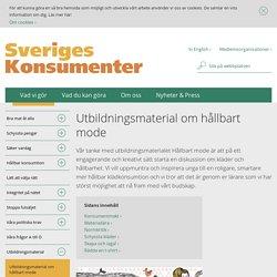 Utbildningsmaterial - Sveriges Konsumenter