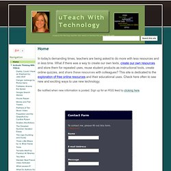 uTeach With Technology