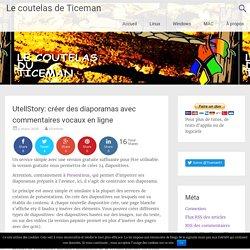 UtellStory: créer des diaporamas avec commentaires vocaux en ligne