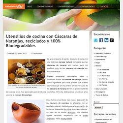 Utensilios con cáscaras de naranja - Usos de las cáscaras de naranja