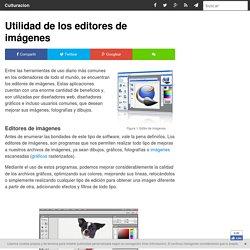 Utilidad de los editores de imágenes - Culturación