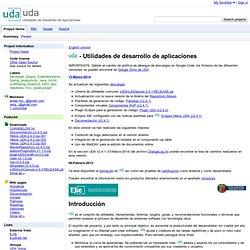 uda - Utilidades de Desarrollo de Aplicaciones