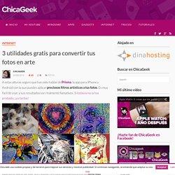 3 utilidades gratis para convertir tus fotos en arte - ChicaGeek