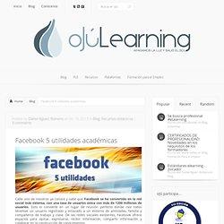Facebook 5 utilidades académicas
