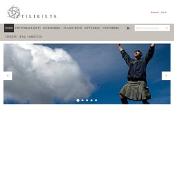 UTILIKILTS - American Made Utility Kilts for Everyday Wear