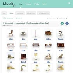 60 sites pour trouver des objets 3D utilisables dans Photoshop !