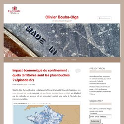 Un site utilisant Blogs UP