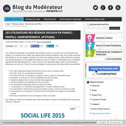 Les utilisateurs des réseaux sociaux en France : profils, comportements, attitudes