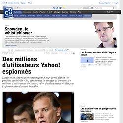 Des millions d utilisateurs Yahoo! espionnés