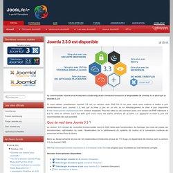 3.3.0 est disponible - Versions 3.x