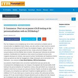 ITRmanager : Le quotidien des utilisateurs de l'informatique en entreprise