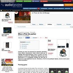 L'utilisation du panoramique dans le mixage audio sur MAO en home studio