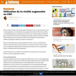 Utilisation de la réalité augmentée en CM1