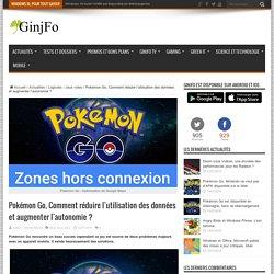 Pokémon Go, Comment réduire l'utilisation des données et augmenter l'autonomie