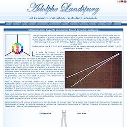 Utilisation de la baguette de sourcier Biorad Système Landspurg