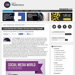 L'utilisation des médias sociaux dans le monde