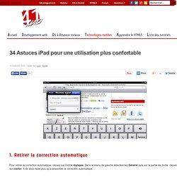 34 Astuces iPad pour une utilisation plus confortable