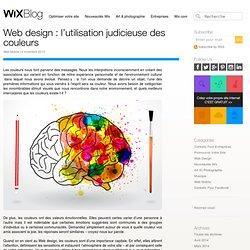 Web design -L'utilisation des couleurs - Le Blog Officiel de Wix.com