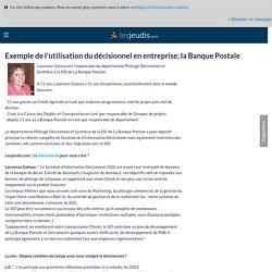 Exemple de l'utilisation du décisionnel en entreprise : la Banque Postale