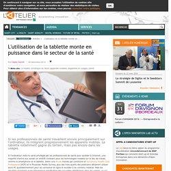 L'utilisation de la tablette monte en puissance dans le secteur de la santé