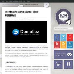 Utilisation du logiciel Domoticz sur un Raspberry Pi