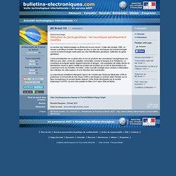 BE Brésil 131 >> 14/03/2011 Utilisation du génie génétique : les moustiques génétiquement modifiés