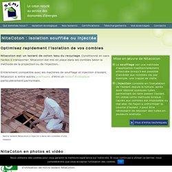 NitaCoton : isolation écologique pour une utilisation soufflée ou injectéeSCMI