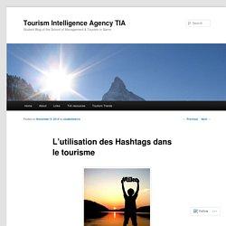 L'utilisation des Hashtags dans le tourisme