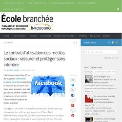 Le contrat d'utilisation des médias sociaux : rassurer et protéger sans interdire - Infobourg.com
