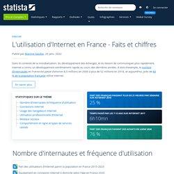 L'utilisation d'Internet en France - Faits et chiffres