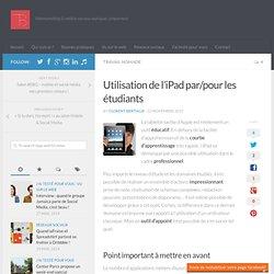 Utilisation de l'iPad par/pour les étudiants