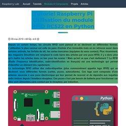 Utilisation d'un module RFID sur Raspberry Pi - Raspberry Lab