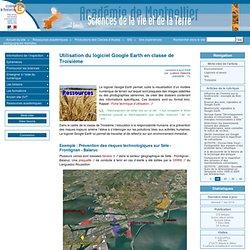 Utilisation du logiciel Google Earth en classe de Troisième