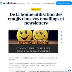 De la bonne utilisation des emojis dans vos emailings et newsletters - Sendinblue