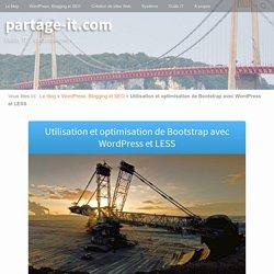Utilisation et optimisation de Bootstrap avec WordPress et LESS
