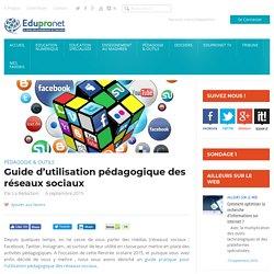 Guide d'utilisation pédagogique des réseaux sociaux