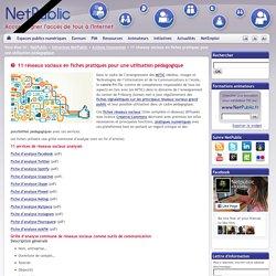 11 réseaux sociaux en fiches pratiques pour une utilisation pédagogique