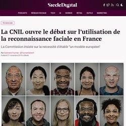 La CNIL ouvre le débat sur l'utilisation de la reconnaissance faciale en France