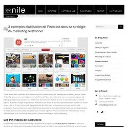 3 exemples d'utilisation de Pinterest dans sa stratégie de marketing relationnel