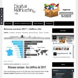 Utilisation des réseaux sociaux : chiffres 2017 en France et dans le monde.