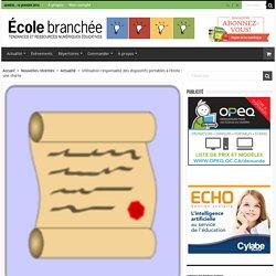 Utilisation responsable des dispositifs portables à l'école : une charte